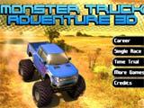 Juegos de carros monster truck adventure 3d juegosdecarros eu